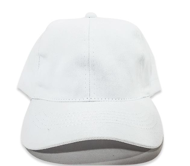 c04bea3fc5e07 Boné Liso Aba Curva Aberto - Branco Basic